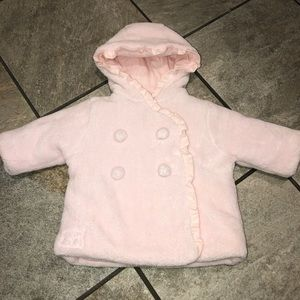 Emile et Rose Light Pink Winter Coat